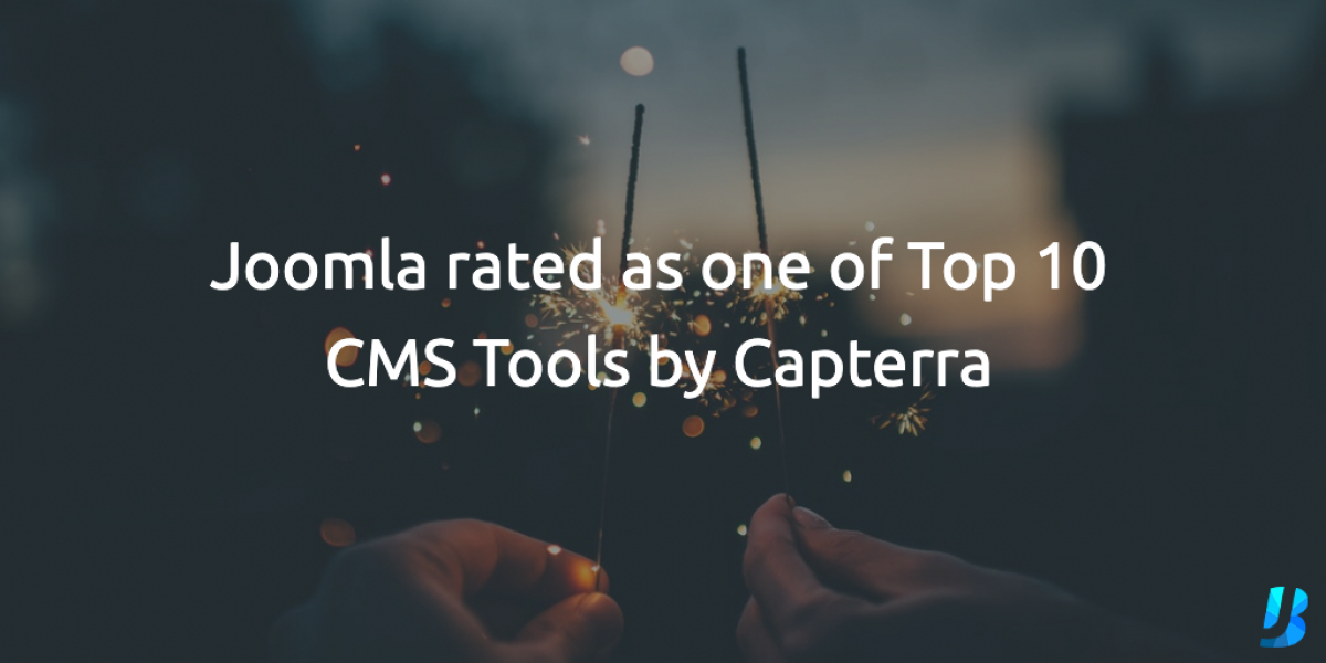 Joomla rated as one of Top 10 CMS Tools by Capterra